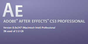 After Effect CS3 Professional