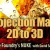 Nuke Projection Maps 2D to 3D by Dave Scandlyn
