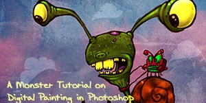 A Monster Tutorial on Digital Painting in Photoshop