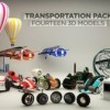 The Pixel Lab – Transportation Pack