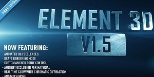 Video Copilot Element 3D 1.5.409 (The Complete Studio Bundle)