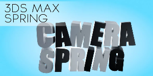Camera Jiggle с The Spring в 3DS Max