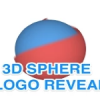 3D sphere logo reveal in After Effects