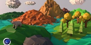 Low Poly Art в Cinema 4D