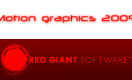 Motion Graphics Products 2009