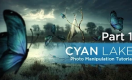 Cyan Lake - Photo Manipulation Tutorial