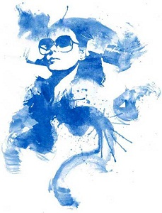Watercolour / Ink Blot Effect