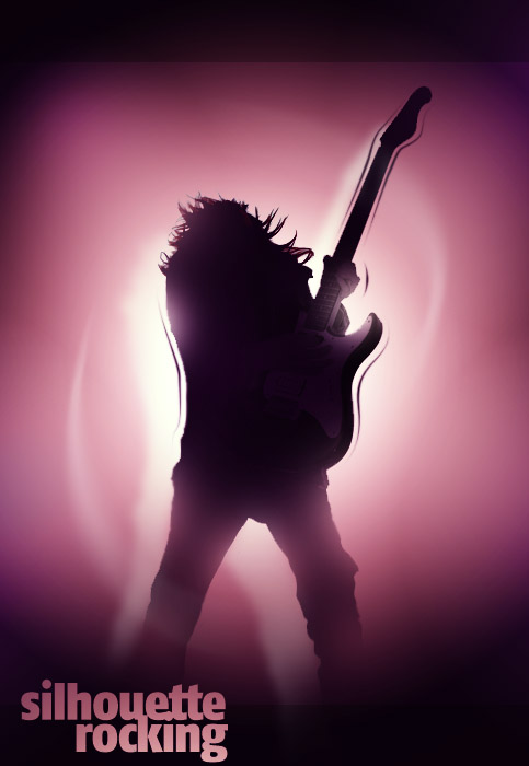 Rocking Silhouette in Photoshop