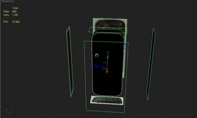 Realistic Looking Nokia 5800 in 3ds Max