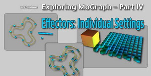 MoGraph Effectors - Individual Settings