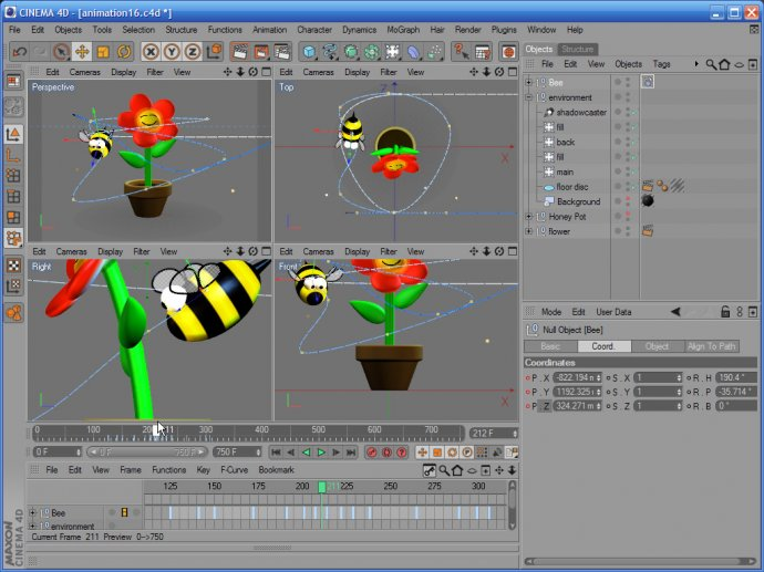 Training for CINEMA 4D R10 - Animation - Volume 6