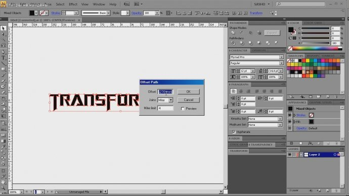 Transformers Titles � Cinema 4D