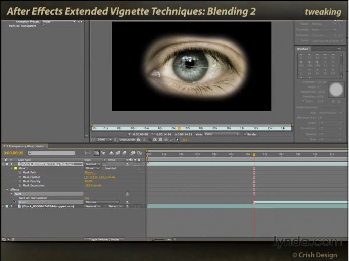 After Effects Extended Vignette Techniques