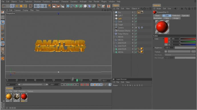 Comedy Titles in Cinema 4D
