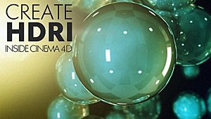 Create HDRI in Cinema 4D