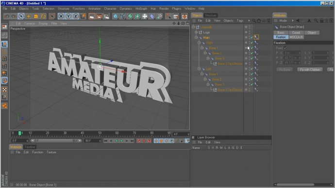 Jelly-like Text Animation in Cinema 4D and After Effects