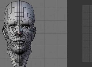 UV Unwrapping a Human Head
