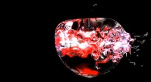 Amazing Liquid Apple Effect in RealFlow, Cinema 4D and After Effects