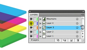 Quick Tip: Deciphering the Layers Panel