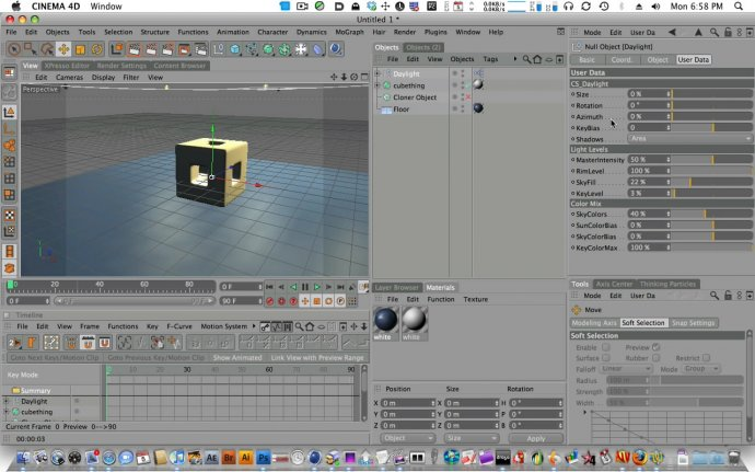 Cinema 4D: CS Tools – Daylight 2