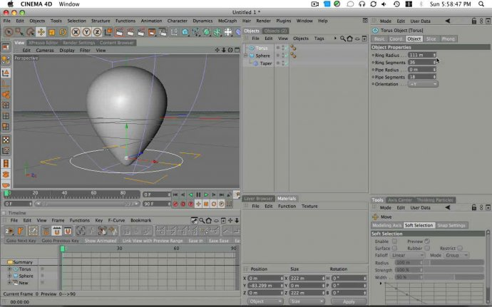 Floating Balloon Animation In Cinema 4D