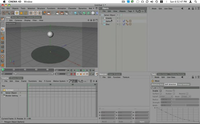 Cinema 4D Dynamics