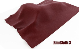 SimCloth 3 (for 3D Max 2008, 2009, 2010)