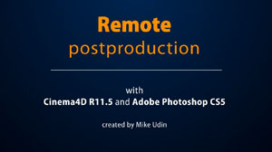 Remote Postproduction