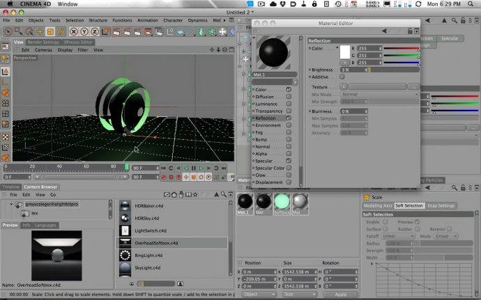 Building a Sci-Fi Sphere Scene in Cinema 4D