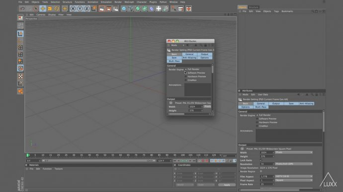 Customising C4D Attribute Manager Modes