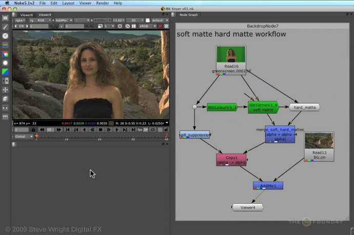 NUKE Basic Workflows | IBK Keyer