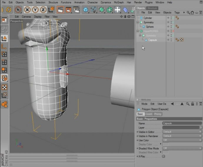 Creating Cartoon Characters in CINEMA 4D