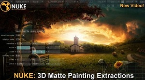 Nuke: 3D Matte Painting Extractions