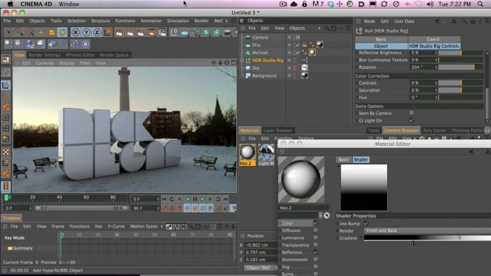 How to Make A 3D Composite with an iPhone, Panorama 360 and Cinema 4D