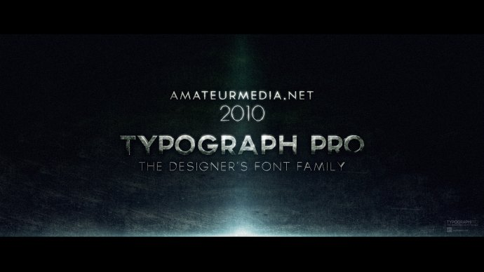 TYPOGRAPH PRO FONTS