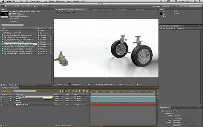 Compositing Render Passes