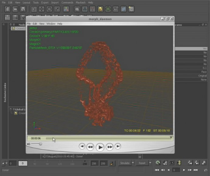 Digital Tutors - Using Morph and Magic Daemons in RealFlow 5
