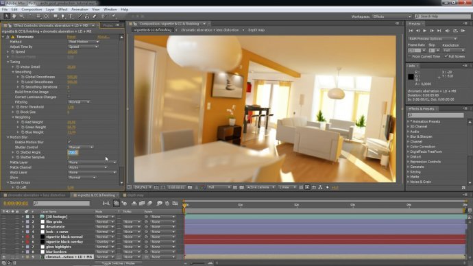 "3D Arch-renderings Meet The ""Film Look"" in After Effects CS5"