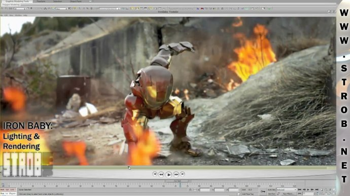 Big  Making of Iron Baby