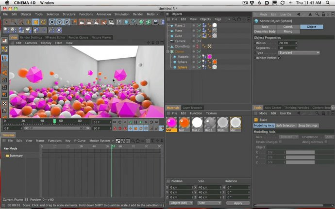 How To Make and Modern Art Gallery Installation Animation With Cinema 4D