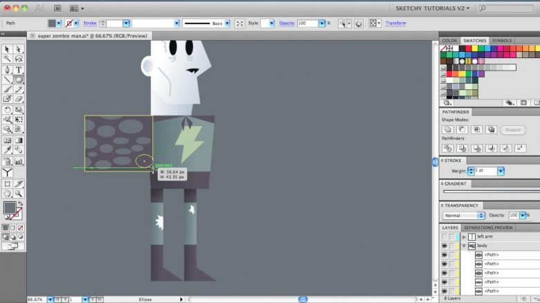 Creating a cartoon in After Effects