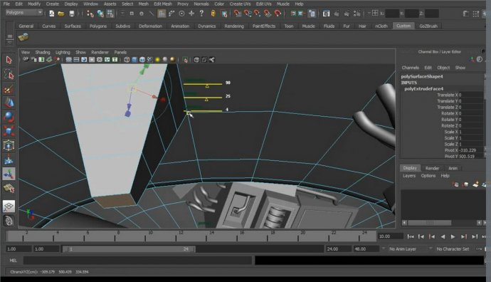 New Modeling Features in Maya 2012
