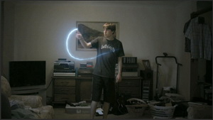 "Illuminating ""Light Painting"" Effect"