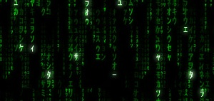 The Matrix Raining Code