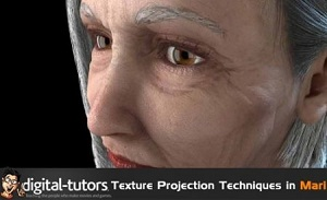 Texture Projection Techniques in MARI