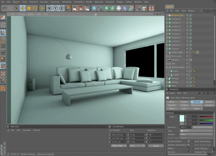 C4D Advanced Render Interiors - From the Ground Up