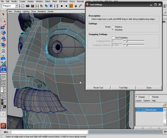 Maya Modeling Reference Library: Edit Mesh