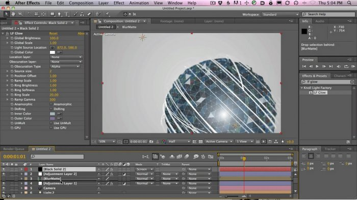 Making The AT&T End Tag Logo in Cinema 4D and After Effects