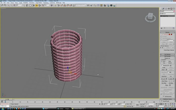 Modeling a Screw