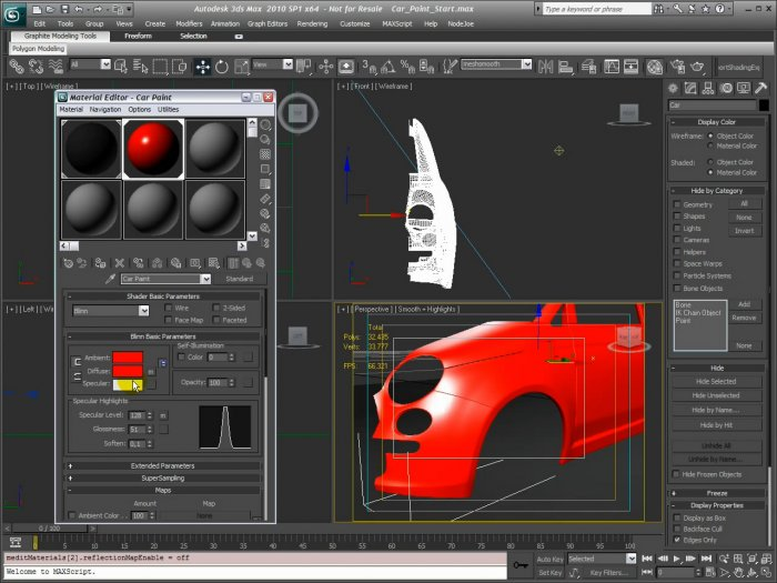 Creating a Car Paint Shader